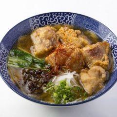 鶏香醇清湯 から揚げラーメン醤油