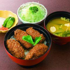 ソースカキフライ丼